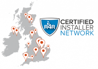 Certified Installer Map and Logo