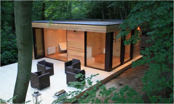 Rubber roofs for garden rooms office studios rubber4roofs for Garden rooms images
