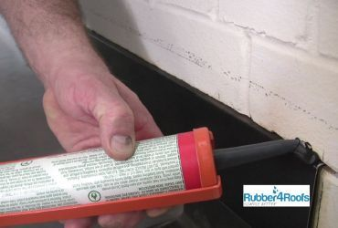 Install Mastic to Wall Trim and Wall Slot