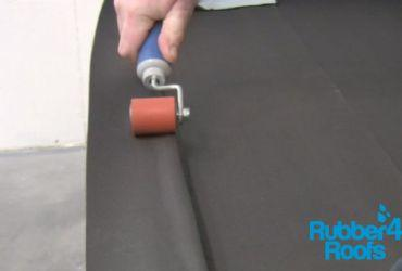 Use Seam Roller to Form Membrane on Corners