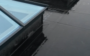 DuoPly EPDM Flat Roof with Skylights
