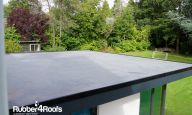 Environmentally Friendly Flat Rubber Roofs Rubber4roofs