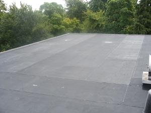 Epdm garage roofing kits rubber4roofs rubber4roofs for Garage roofing options