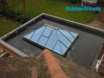 Orangery Flat Roofs Use Epdm Instead Of Felt Rubber4roofs