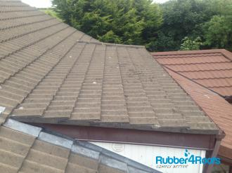 Shallow Pitched Roof With Incorrect Tiles