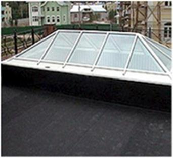 EPDM Balcony and Roof Lantern Upstand