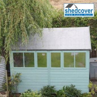 EPDM Shed Roof