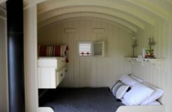 Shepherd Hut Inside