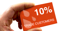 10% Trade Discounts available