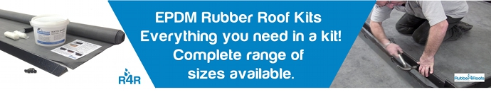 Rubber Roofing Kits and EPDM Roof Kits