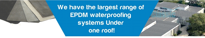 EPDM Rubber Roofing Systems