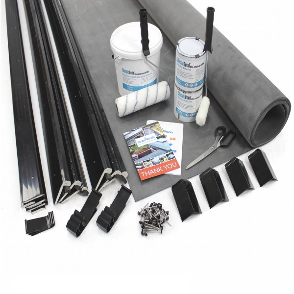 Epdm Garage Rubber Roof Kits Rubber4roofs
