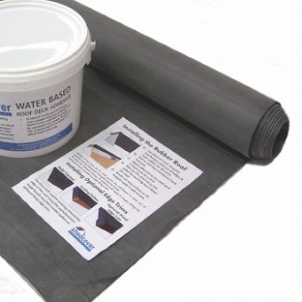 EPDM Shed Rubber Roof Kits | Rubber4Roofs