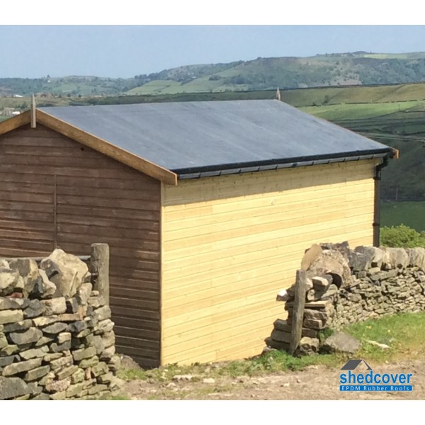 Shedcover rubber membrane for shed rubber roofs for Shed roofs