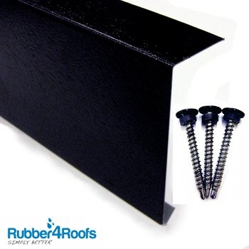 Metal Edge Trim For Rubber Roofing Rubber4roofs