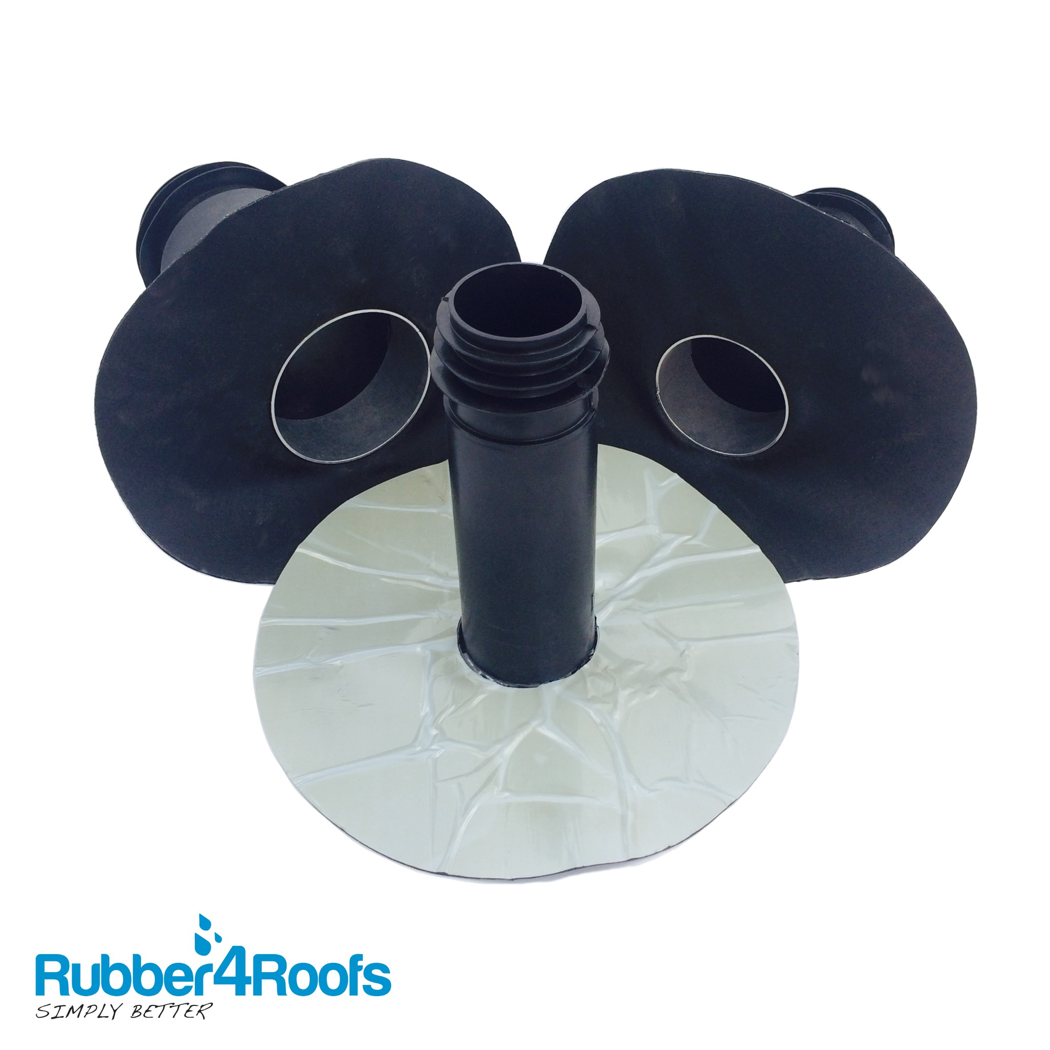 Self Adhesive Drain Outlet Rubber4roofs