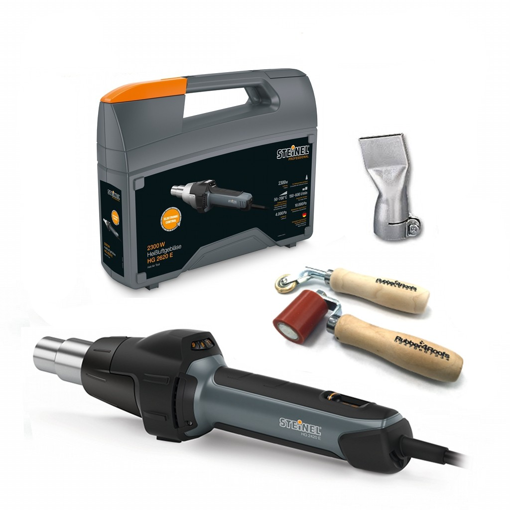 Resitrix Tool Kit With Steinel Heat Gun Rubber4roofs