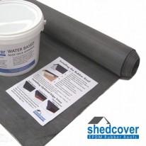 EPDM Shed Rubber Roof Kits from Rubber4Roofs
