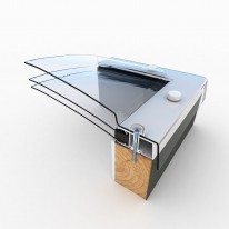 Mardome Trade Roof Light Triple Skin (Dome Only)