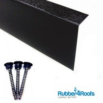 Metal Wall Trim for Rubber Roofing from Rubber4Roofs