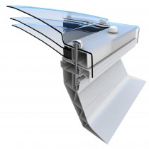 Mardome Trade Roof Light Triple Skin (Dome & Upstand)